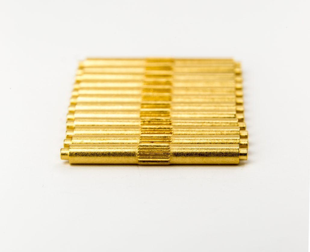 gold plating components