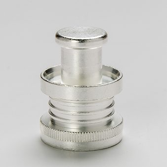 silver plated component